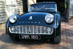 Triumph TR 3A 1958 Historic road rally car  Photo