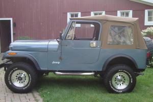 1983 jeep CJ-7, 32913 original miles