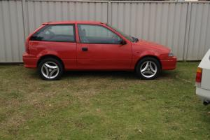 Suzuki Swift Cino 1997 3D Hatchback 5 SP Manual 1 3L Carb in Greystanes, NSW