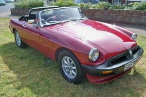 1977 MG/ MGF MGB Roadster Photo