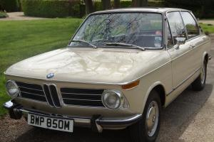 BMW 2002 Touring 1974 very rare car with full history from manufacture to today.
