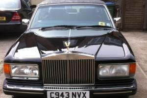 Rolls Royce Silver Spur - Black - 1985  Photo