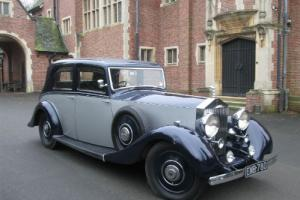 1938 Rolls Royce 25/30Hp Cockshoot Sports Saloon. 1 off 3. AMAZING VALUE