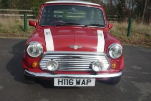 1990 Rover Mini Cooper RSP in Flame Red with 94 miles