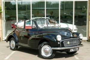 Morris MINOR Convertible 1955 Split Screen. Only 2 Previous Owners From New