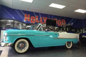 1955 CHEVY CONVERTIBLE BEAUTIFUL IN AND OUT REAL BELAIR