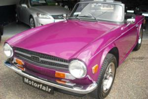 1973 Triumph TR6 HISTORIC ROAD TAX QUALIFYING