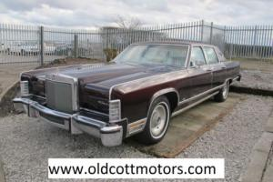 1979 LINCOLN TOWN CAR 41,000 MILES 6.6 LITRE AUTOMATIC