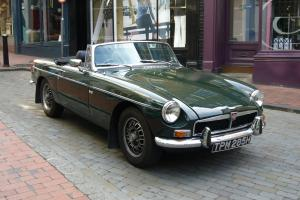 MG V8 Roadster Rare Classic Car  Photo