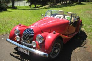 Morgan 4 4 1600 2 Seater 1988 2D Roadster 5 SP Manual 1 6L Carb Photo
