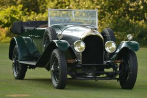 1925 Bentley 3.0 litre J. Gurney Nutting Tourer. Photo