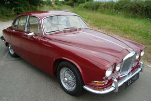 Jaguar 420 saloon 1969 manual/overdrive