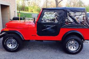 Cj, cj7, jeep, wrangler,rock crawler, AMC