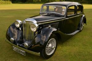 Jaguar SS 1 1/2 Litre Saloon. Estate sale. Photo