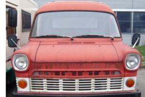 1971 Ford Transit LWB Twin Wheel LHD just 6825kms (4242 miles) from new,