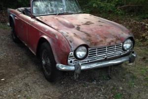 project car roadster tr4 rare roadster Photo