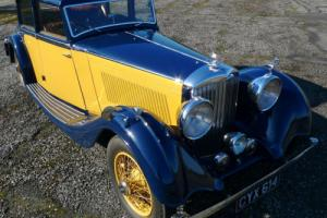 1936 Derby Bentley 4.25 Litre sports saloon. Photo
