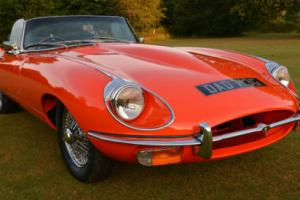 1968 Jaguar E type Series 2 Roadster.