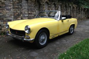 NO Reserve M G Midget Sports 1971 2D Roadster 4 SP Manual 1 3L Carb in St Ives, NSW