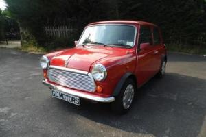 1996 Rover Mini Mayfair Auto in Flame Red just 19,000 miles