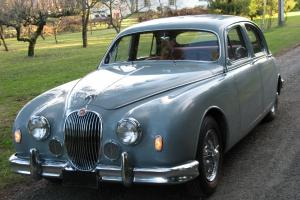 1958 JAGUAR Mk1 RARE 3.4 liter 4speed overdrive EXCELLENT SURVIVOR Photo