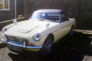 1971 MGB Roadster V8 with 5 Speed Gearbox Professional Bare Shell Rebuild