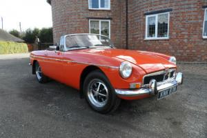 MGB Roadster 1974 Chrome Bumper (130th from last)