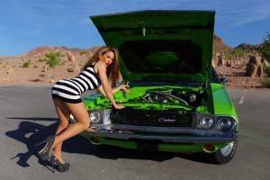 SPECTACULAR 1970 DODGE CHALLENGER PRO-TOURING 408ci STROKER AC PW 450HP VIDEO