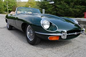 1969 Jaguar XKE Roadster Beautiful Restoration! British Racing Green with tan