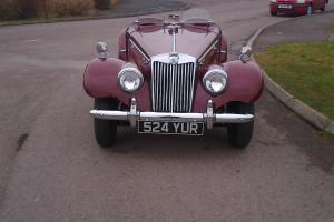RARE 1954 MG TF1500,ONE OF ONLY 3400 BUILT Photo