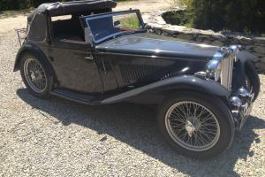 1939 MG-TA Tickford Photo