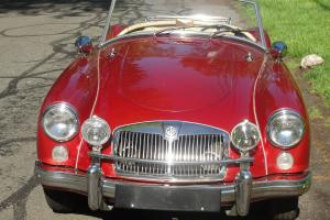 1960 MGA Roadster Restored Beautiful Desirable Collectible Finely Restored