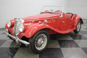 MG TF 1500, 4-SPEED MANUAL, COMPREHENSIVE RESTORATION, LESS THAN 400 MILES SINCE Photo
