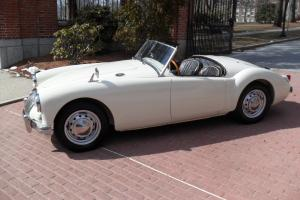 1956 MGA roadster BODY OFF restoration!