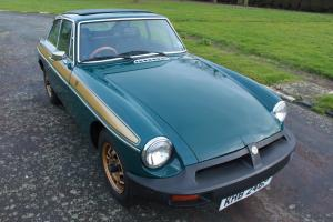 MGB GT Jubilee Edition 1975 (1975) (MG B, coupe, roadster,)