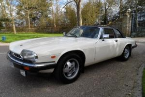 1987 JAGUAR XJ-SC V12 Targa SUPERB CONDITION service history new MOT white/leath  Photo
