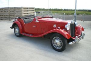 1952 MG TD LHD RESTORED CALIFORNIA CAR UK REG