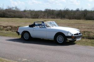 1982(Y) MGB ROADSTER, outstanding condition, must be one of the best available,  Photo