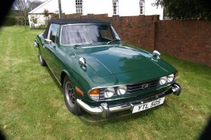 1978 TRIUMPH STAG mk2 3.0 AUTO BRITISH RACING GREEN  Photo