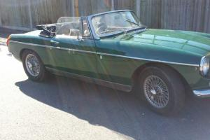 MGB roadster 1971 one owner 43 years