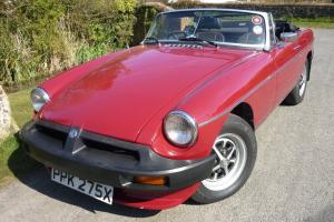 MGB Roadster. Low mileage.