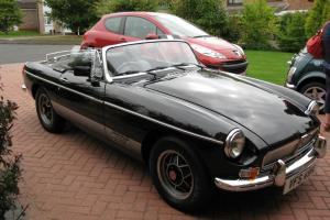 Classic Black MGB Roadster Limited Edition