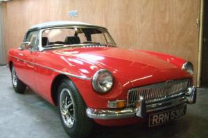 MG MGB Roadster 1.8 K 1972 RHD Beautifully Restored