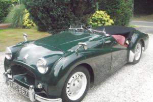 Triumph TR2 Short Door 1955 (Original RHD UK Car)