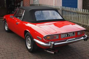 Triumph Stag Mk1 1 1971 - Triumph V8. Manual with Overdrive. Tax Exempt.  Photo