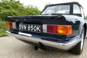Triumph TR6, STUNNING CAR VIRTUALLY SHOW CONDITION  Photo