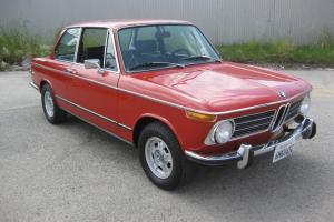 1972 BMW 2002tii Verona Red / XLNT Collector Quality / 5 speed