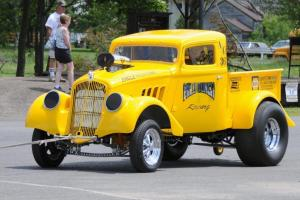 33/36 Willys A/Gas Supercharged Pickup Gasser Blown And Injected 392 Hemi