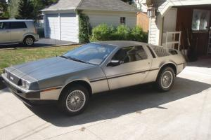 1981 DeLorean DMC-12 ,  2 door coupe. Low Miles, Excellent Condition