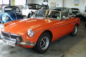 MG/ MGB Sports/convertible 1798cc petrol  Photo